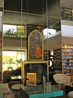 The private library of Iran's former Shahbanou (Queen) Farah Pahlavi which is a part of the Niavaran Palace Museum & Cultural Complex, in Tehran, Iran