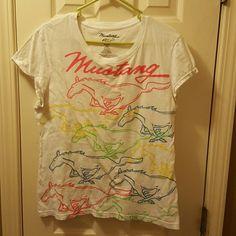 T-shirt Mustang printed Mustang Tops Tees - Short Sleeve