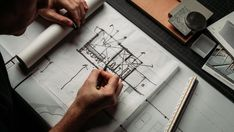 Modern Residential Architecture, Architecture Design, Plan Sketch, Workshop Design, Drawing Templates, Learn To Draw, Autocad, Design Process, Design Model