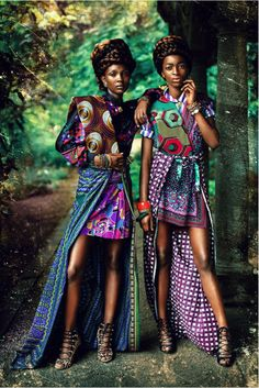 Our look of the day today goes to this wonderful duo. We hope you will agree with us when we say this is tribal fashion at its most eclectic. We sure love a creative combination of eccentric colours and dynamic patterns, that blend together so PERFECTLY.   Love…Light…Liberty x  #LOTD #tribalSTYLE #workingWONDERFULLY #beinspired#withsuchLIVELY #style #lookoftheday  Photography Credit: maelleandre.com