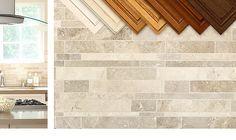 "BA1035 Travertine (tumbled) 29.50/sq ft, pattern repeat 18x24"" http://backsplash.com/product/travertine-subway-mosaic-backsplash-tile/"