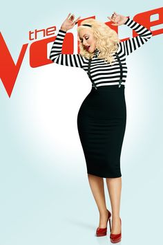 Queen. Goddess. Icon...whatever you'd like to call her. Christina Aguilera returns to The Voice on Monday, February 23 at 8/7c!