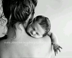 Baby and mom, I love this picture! : )