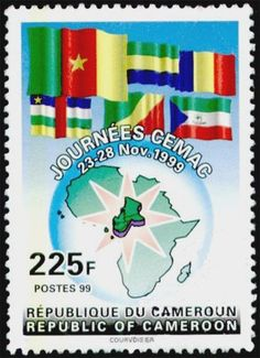 Stamp: Economin and monetary community of Central Africa (Cameroon) (Economin and monetary community of Central Africa) Mi:CM 1238,Sn:CM 928,Yt:CM 898