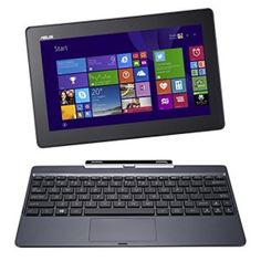Buy Open Box: ASUS Transformer Book Intel Quad Core RAM SSD Touchscreen Tablet w/Dock, Windows with fast shipping and top-rated customer service. Quad, Transformers, Wi Fi, Ordinateur Portable Asus, Pc Asus, Budget Laptops, Tablet Android, Mini Pc, Asus Laptop