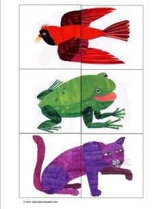Brown Bear Printable Activities {Free Printable Kindergarten Worksheets} If you love reading the book Brown Bear, Brown Bear, What Do You See? By Eric Carle to… Eric Carle, Kindergarten Worksheets, In Kindergarten, Learning Activities, Preschool Activities, Brown Bear Activities, Articulation Activities, Preschool Printables, Language Activities