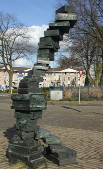 Monumento al libro en Holanda