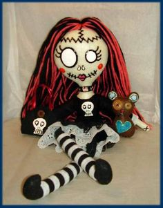 Gothic Dead Spooky Rag Doll by ~jazzy1453 on deviantART