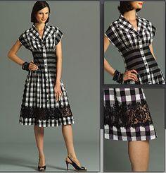 A gingham dress. That looks good!
