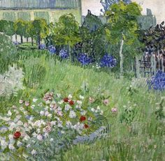 Daubigny's Garden, Vincent van Gogh - #Art #LoveArt https://wp.me/p6qjkV-bWY