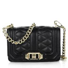 e229980ea2cb84 Rebecca Minkoff Mini Love Black Leather Cross Body Bag - Tradesy