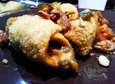 Involtini di pollo con funghi zucchine e mandorle | Il mandorlo in fiore