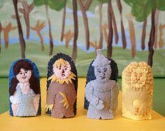 Wizard of Oz Finger Puppet Set