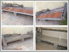 Como Fazer obra: Como fazer um banco de concreto