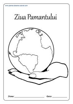 PLANSE DE COLORAT DE ZIUA PAMANTULUI - 22 Aprilie Gerbil, Anaconda, Chinchilla, Oras, Koi, Education, House 2, Geography, Kids