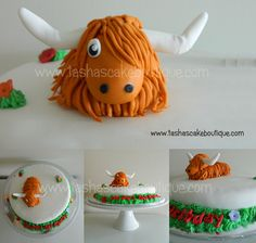 Cake By Design Aberdeen : Highland Cow Cake! - I ll be needing this cake for my ...
