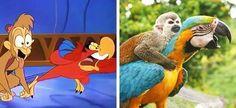 Ces animaux ressemblent beaucoup aux personnages de nos dessins-animés