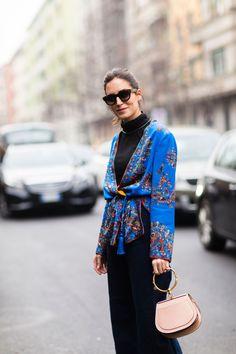 The Best Street Style From Milan Fashion Week Gala Gonzalez - The Cut
