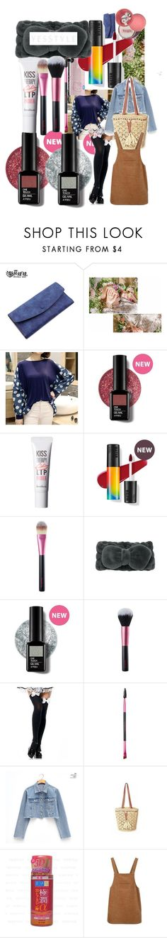 """""""Looking for shoes"""" by lerp ❤ liked on Polyvore featuring Bags 'n Sacks, Hello Kitty, Therapy, chuu, Sunset Hours and Hada Labo Tokyo"""