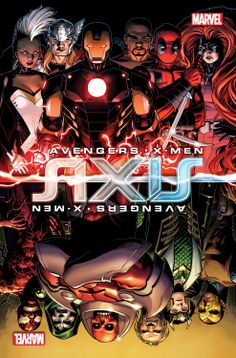 COMICS: Marvel Debuts New Covers Of Avengers & X-Men: AXIS #4, #5 & #6 For AXIS Act Two: Inversion