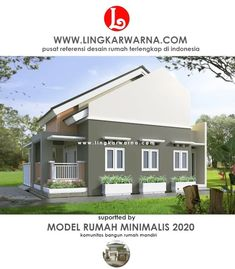 20 Desain Dinding Rumah Minimalis Ideas In 2020 Bungalow House Design Modern Bungalow House Design Modern Bungalow House