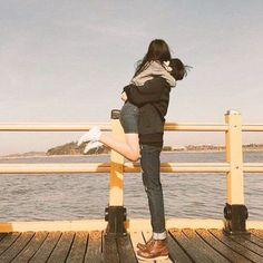 Girl, Boy, Ulzzang and Couple Couple Goals, Cute Couples Goals, Cute Relationship Goals, Cute Relationships, Senior Photography, Couple Photography, Cute Couple Pictures, Couple Photos, Couple Ulzzang