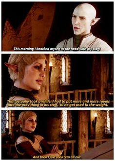 Dragon Age Inquisition/ The Office