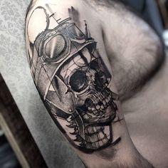 Tattoo by Fredao Oliveira. Photo from Fredao Oliveira. Great Tattoos, All Tattoos, Life Tattoos, Body Art Tattoos, Tatoos, Tattoo Studio, New Age Tattoo, I Tattoo, Blackwork