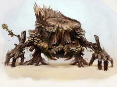 Monster of the Day: Redwood by *atomhawk