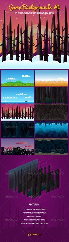 Game Backgrounds #1 Download here: https://graphicriver.net/item/game-backgrounds-1/7513749?ref=KlitVogli