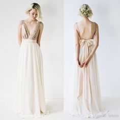 free shipping, $81.48/piece:buy wholesale 2016 new arrival long bridesmaid dresses pleats chiffon with gold sequins v-neck sleeveless sweep train bridesmaid dresses with bow 2016 spring summer,real photos,chiffon on lpdress's Store from DHgate.com, get worldwide delivery and buyer protection service.