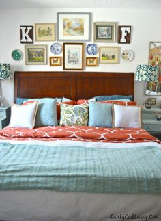 Quirky Cool...: An Eclectic Cottage Bedroom Makeover...