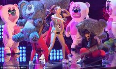 Miley's Cyrus music performance at the 2013 MTV VMA's