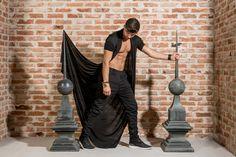 """Oriental Gothicism"" Kutzarov #Menswear #Campaign Photography by: Mara Radeva. Layout & Décor by: Accentidecor. Model: Dzhuneit Georgiev Penev. #minimalist #editorial #editorialphotography #style"