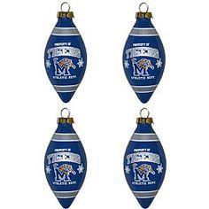 Memphis Tigers Ornaments