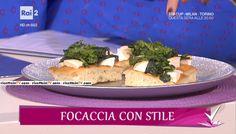 """""""Detto Fatto"""": la ricetta della focaccia provola e friarielli di Cristiano Piccirillo del 12 gennaio 2017."""