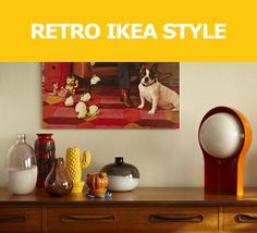 Explore a home filled with retro and iconic IKEA treasures, like a 1974 SKOPA chair, and discover ways to add vintage, or vintage-inspired (like the IKEA PS collection) pieces to your space.