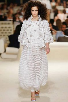 Chanel | Cruise/Resort 2015 Collection via Karl Lagerfeld | Modeled by Zlata Mangafic | May 13, 2014; Dubai | Style.com