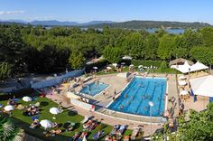 Camping Lago Maggiore, nearby the lovely town of Arona. Glamping, Green Valley, Crystal Clear Water, Camping World, Strand, Dolores Park, Have Fun, California, Holiday