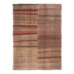 For Sale on - Originating from Turkey in this vintage wool flat-weave rug is of a unique family of Turkish and Persian pieces woven in vertical panels, though Square Rugs, Rugs On Carpet, Carpets, Turkish Kilim Rugs, Vintage Wool, Woven Rug, Handmade Rugs, Weaving, Mid Century