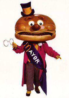 Mayor McCheese!  (Old School McDonalds Mascot)
