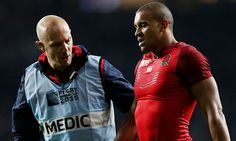 The England backs coach Andy Farrell says a decision on Jonathan Joseph's fitness will be made on Wednesday.