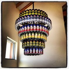 We will need to craft a beer can Chandelier for Neil's future tasting room!