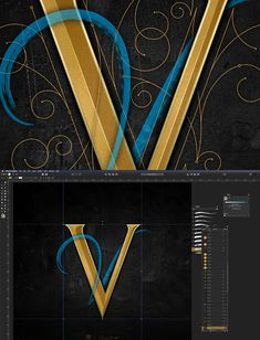 V Logo Design, Best Muscle Cars, 36 Days Of Type, Calligraphy Letters, Typography Inspiration, Lettering, Letter Logo, Believe, Dom