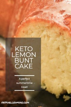 Keto Lemon Bunt Cake is perfect for sharing with guests over tea or coffee or ke. - Keto Lemon Bunt Cake is perfect for sharing with guests over tea or coffee or keep it all to yoursel - Low Carb Cookie Dough, Low Carb Cookies, Low Carb Sweets, Low Carb Desserts, Low Carb Recipes, Diet Recipes, Cooking Recipes, Steak Recipes, Potato Recipes