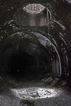 falls at Gatesby tunnel