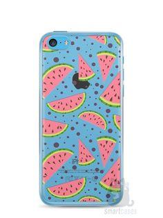 Capa Iphone 5C Melancias e Bolinhas - SmartCases - Acessórios para celulares e tablets :)