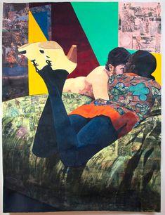 Paintings by Njideka Akunyili: njidekaakunyili-04.jpg