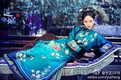 Ancient Chinese Manchu fashion during the Qing dynasty