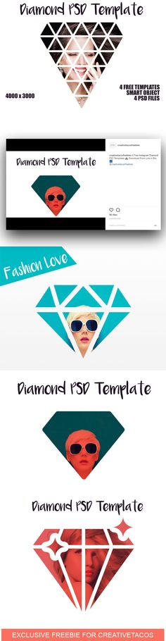 Make your photos look amazing and attract attention on Instagram & social media instantly with our 4 Free PSD Diamond Actions Template collection.  via @creativetacos